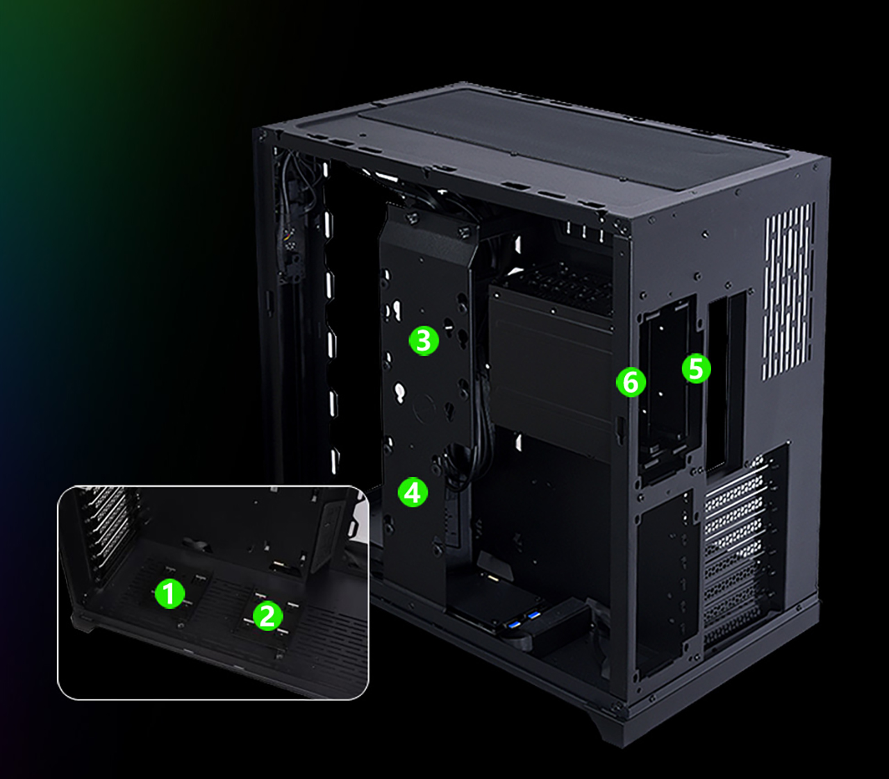LIAN LI PC-O11 Gaming Computer Case