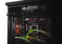 CoolFlux; Water cooling support for internal 120 & 240mm radiator