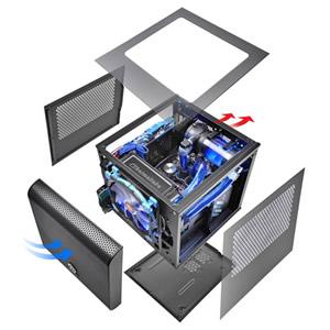 Thermaltake Core V1 Ca 1b8 00s1wn 00 Black Computer Case
