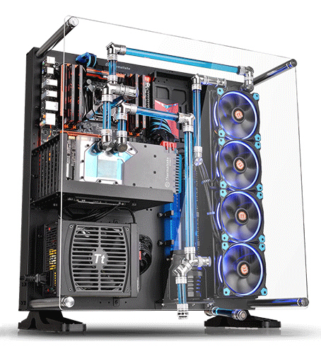 Supreme Liquid-Cooling Support. Core P5 wall-mount ... - Thermaltake Office Products Computer Case-Newegg.com