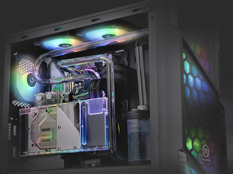 Thermaltake Commander C 31 Tempered Glass ARGB Edition