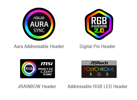 Sync with Motherboard RGB Software