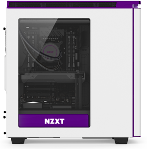 NZXT. The H440 takes the modern design of the H series and breaks away from  tradition to bring you the cleanest PC ever. With its groundbreaking  interior, ...