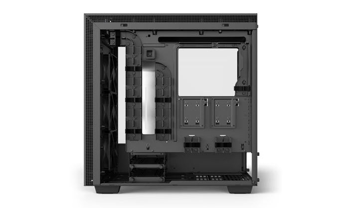NZXT H700 Case Facing to the Left