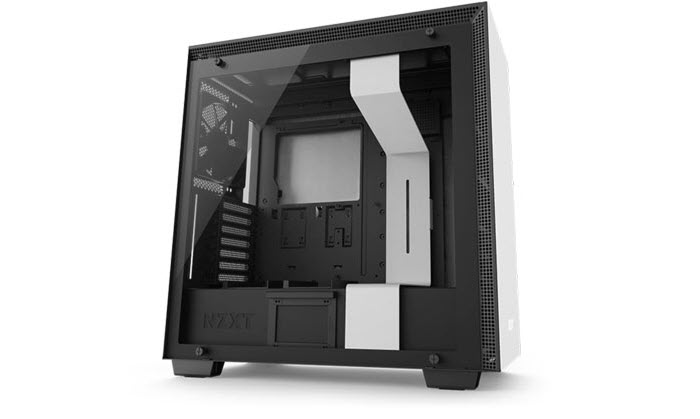 NZXT H700 Angled to the Right