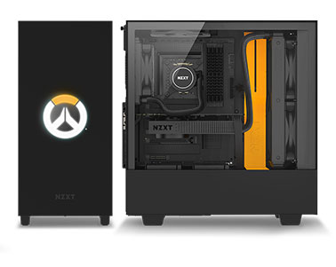 NZXT H500 - Licensed Overwatch Edition ATX PC Gaming Case - Tempered Glass  - Enhanced Cable Management - Newegg com