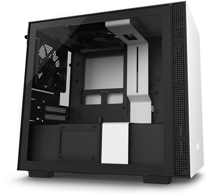 NZXT H210 Mini-ITX Case Facing to the Right