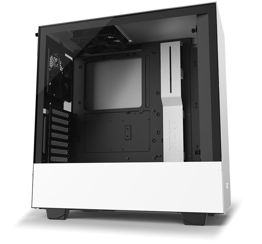 NZXT H Series H510i Case Angled to the Right