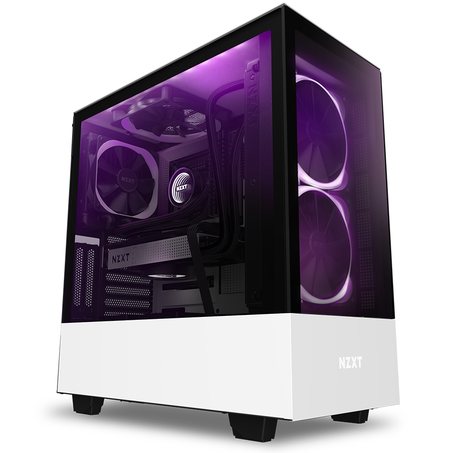 NZXT H Series H510 Elite CA-H510E-W1 ATX Mid Tower Computer Case
