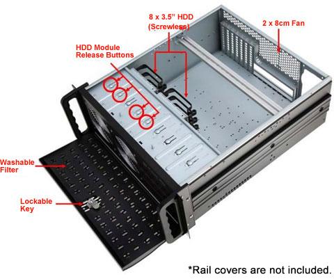 10 Inch Rack Cabinet