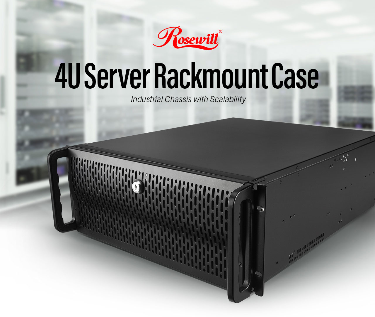 Rosewill RSV-R4000 Black 1 0mm SECC, 4U Rackmount Server Chassis 8 Internal  Bays, 4 Included Cooling Fans - Newegg com