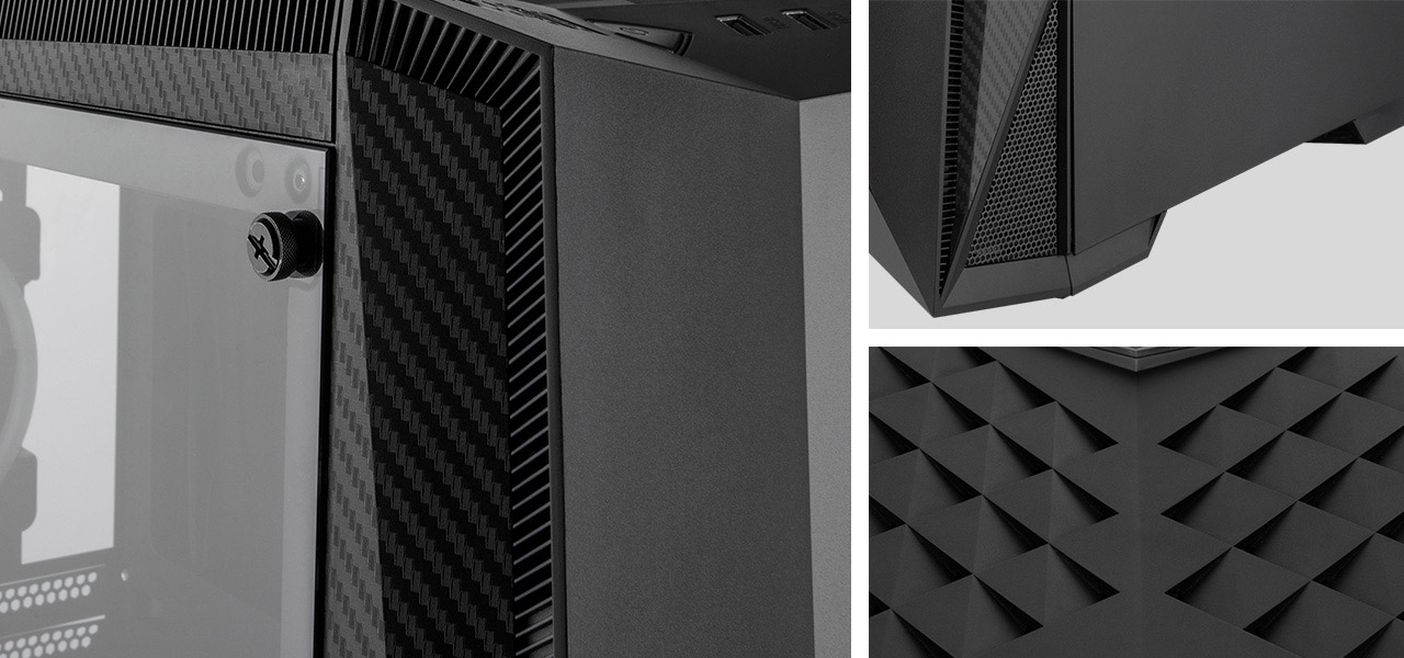 Rosewill ATX Mid Tower Gaming PC Computer Case