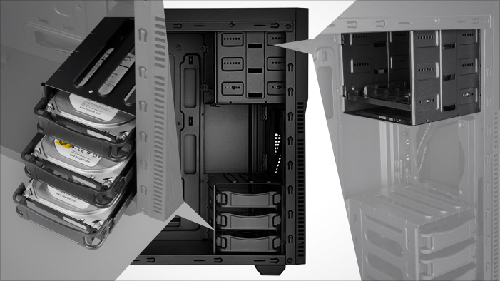 Rosewill Tyrfing V2 Atx Mid Tower Gaming Pc Computer Case