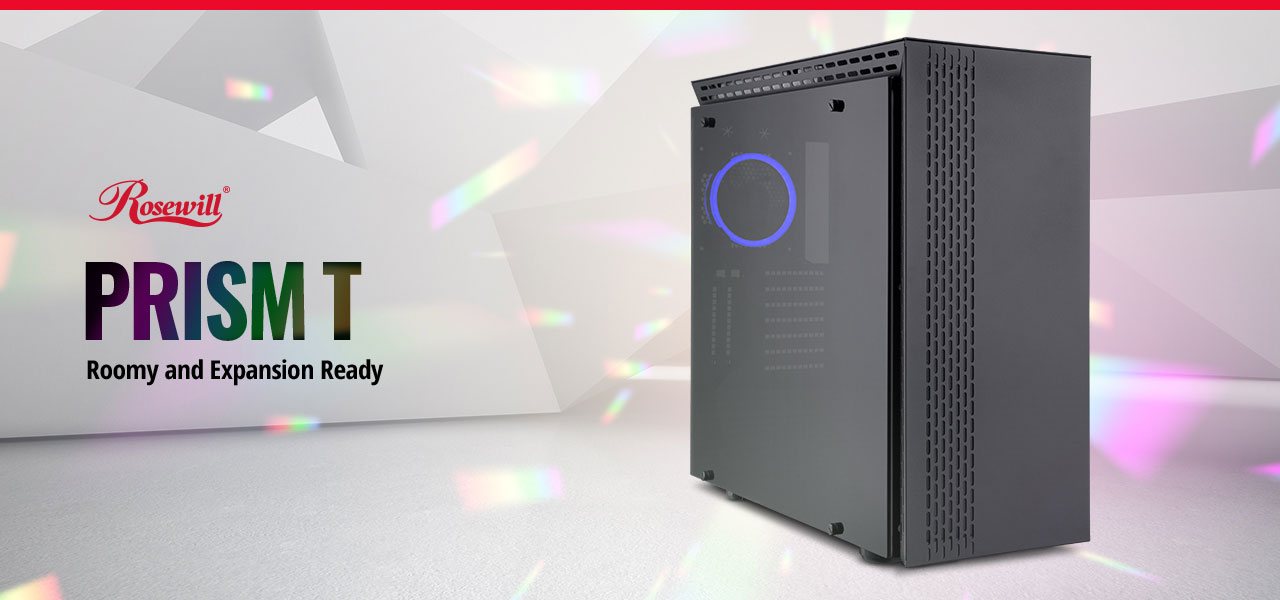 screen shot of the PRISM T ATX Mid Tower Gaming PC Computer Case