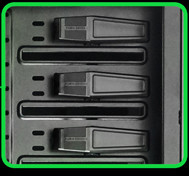 UNIQUE 5.25' SCREW-LESS OPTICAL DRIVE RACK