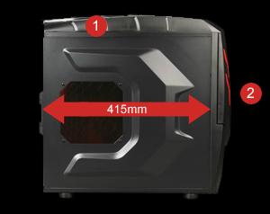 Raidmax Viper Gx Atx 512wbr Black Red Computer Case