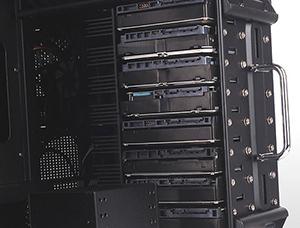 Ten 3.5-inch hard drive capacity