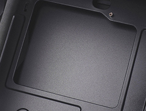 Large motherboard tray cut-out