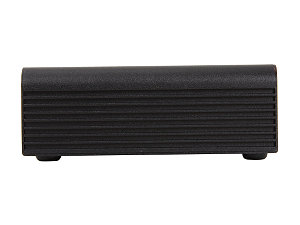 Silverstone Petite Series Pt14b H1t1 Black Aluminum Nuc