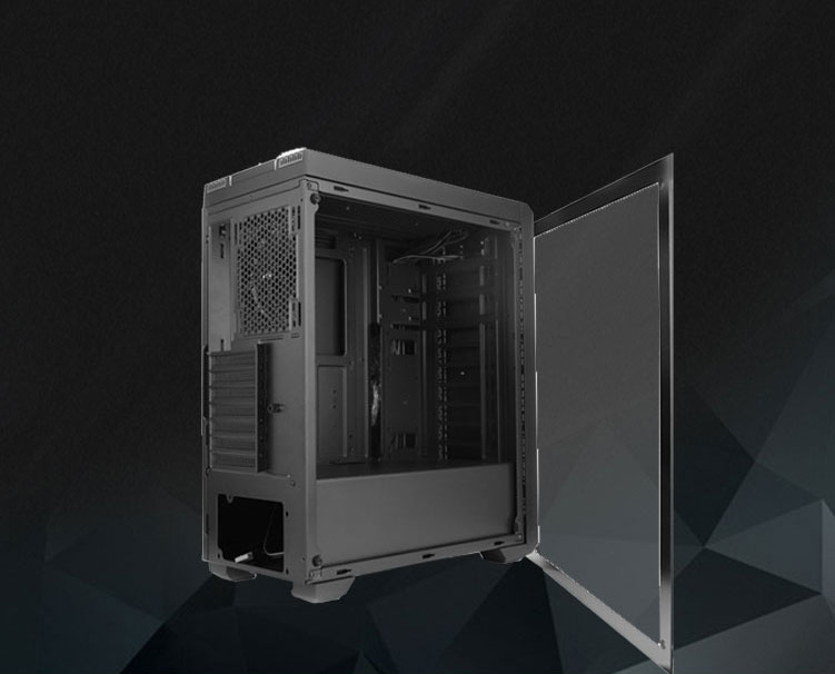 sama proxima rgb black dual usb3 0 steel tempered glass atx midfull clear tempered glass side window
