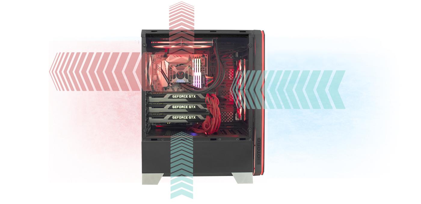 Riotoro Cr1288 Black Computer Case Snap Circuits Ac Battery Eliminator Neweggcom Riotor