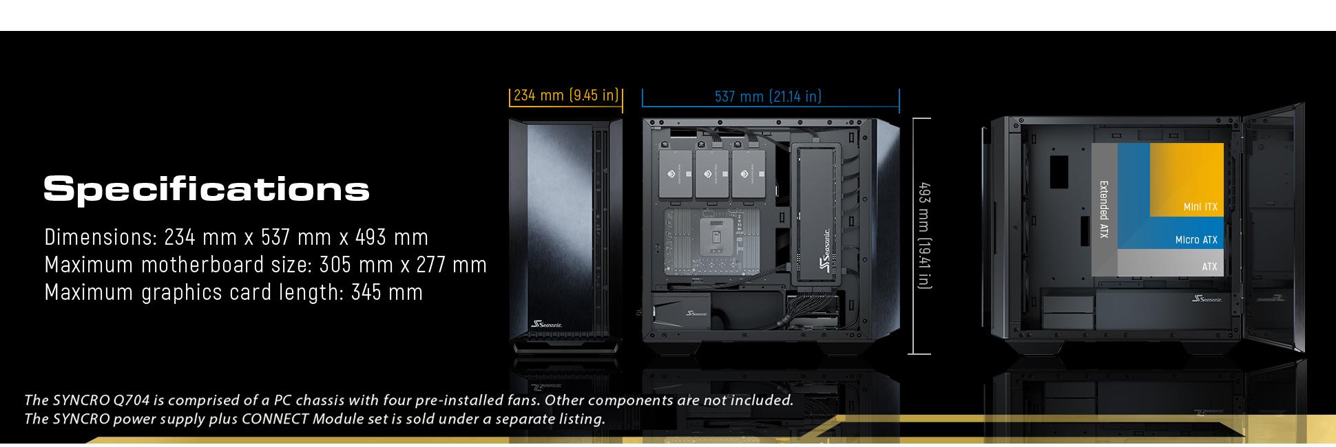 SeaSonic Computer Case