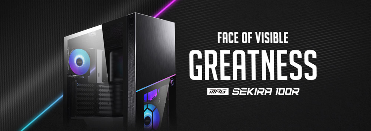 MSI MPG SEKIRA 100R Gaming Case