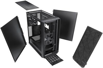 Fractal Design Meshify C Black Atx High Airflow Compact