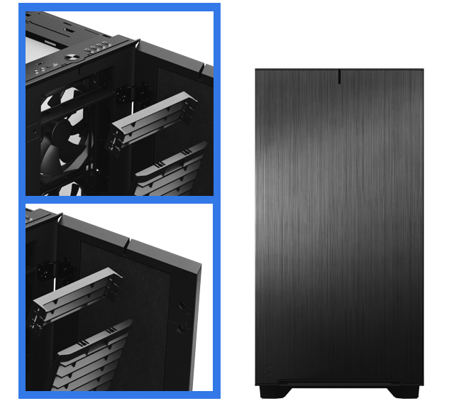 Fractal Define 7 case ELEGANT NEW FRONT DESIGN