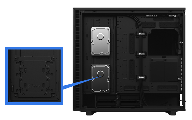 Fractal Define 7 XL case VERSATILE NEW MULTI-BRACKETS