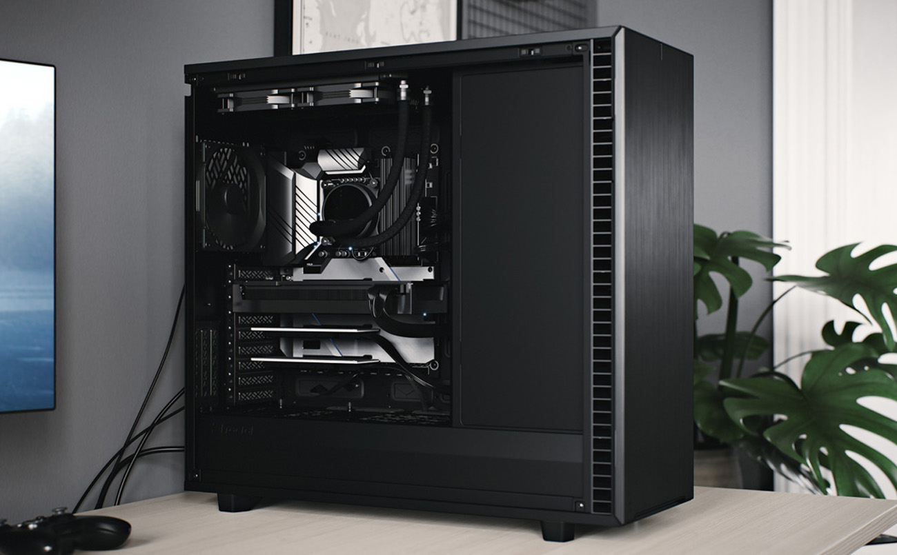 Fractal Define 7 XL case Internal structure display