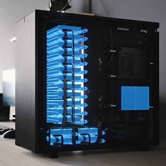 Fractal Define 7 XL case side view