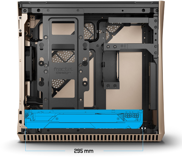 Install dual slot graphics