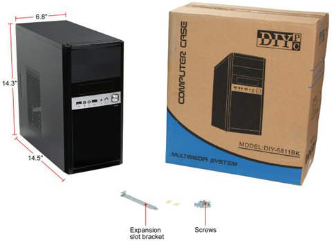 DIYPC DIY-6811BK
