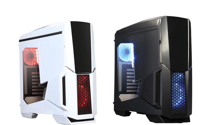 The DIYPC Gamemax Series RGB Full-tower Computer Case embodies the harmonious marriage of aesthetics and functional designs, ideal for any hard-core gamers ...