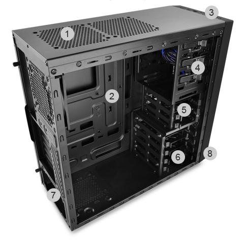 DEEPCOOL Computer Case