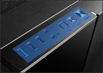 MATREXX 55 top I/O panel