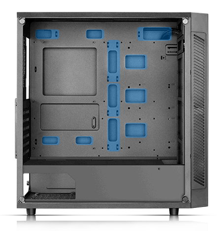 MATREXX 55 facing to the right with the side panel removed