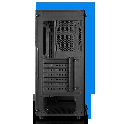 MATREXX 55 case facing away, showing its rear