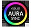 Huy hiệu ASUS AURA SYNC