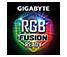 Huy hiệu FAGION của GIGABYTE RGB