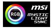Huy hiệu MSI MYSTIC LIGHT SYNC