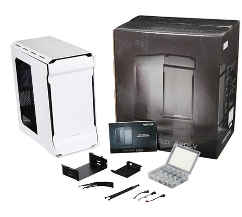 Phanteks Enthoo Evolv Series Ph Es314e Wt White Aluminum