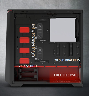 Eclipse P400 Tempered Glass