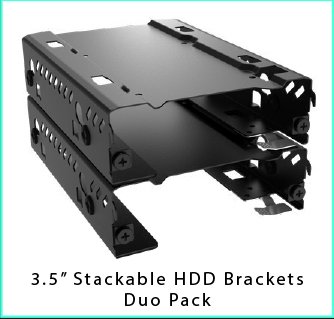 Stackable HDD Bays