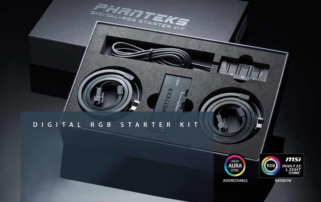 Phanteks PH-DRGB_SKT Digital RGB LED Starter Kit - Newegg com