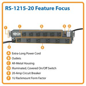 RS-1215-20 Feature Focus