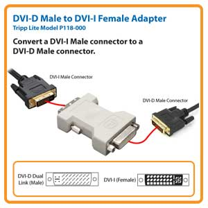 Dvi d wire diagram on tripp lite p118 000 dvi d male to dvi i female adapter newegg com dvi-d single link pinout HDMI to DVI Wiring-Diagram