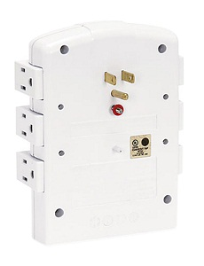 Innovera IVR71651 Wall Mount 6 Outlets 2160 Joules Surge Protector