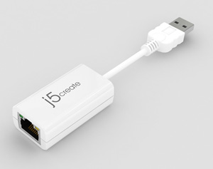 JUE120 USB 2.0 Ethernet Adapter